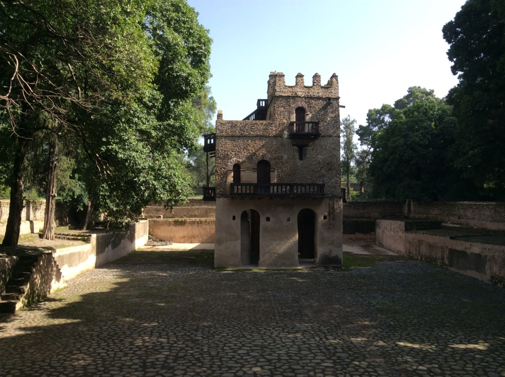 My Ethiopian Adventure:  The Fasilades Bath Palace and the Church of Debre Birhan Selassie (2/6)