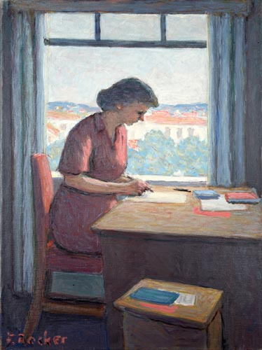 woman_writing